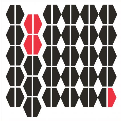 8x8 geometric design