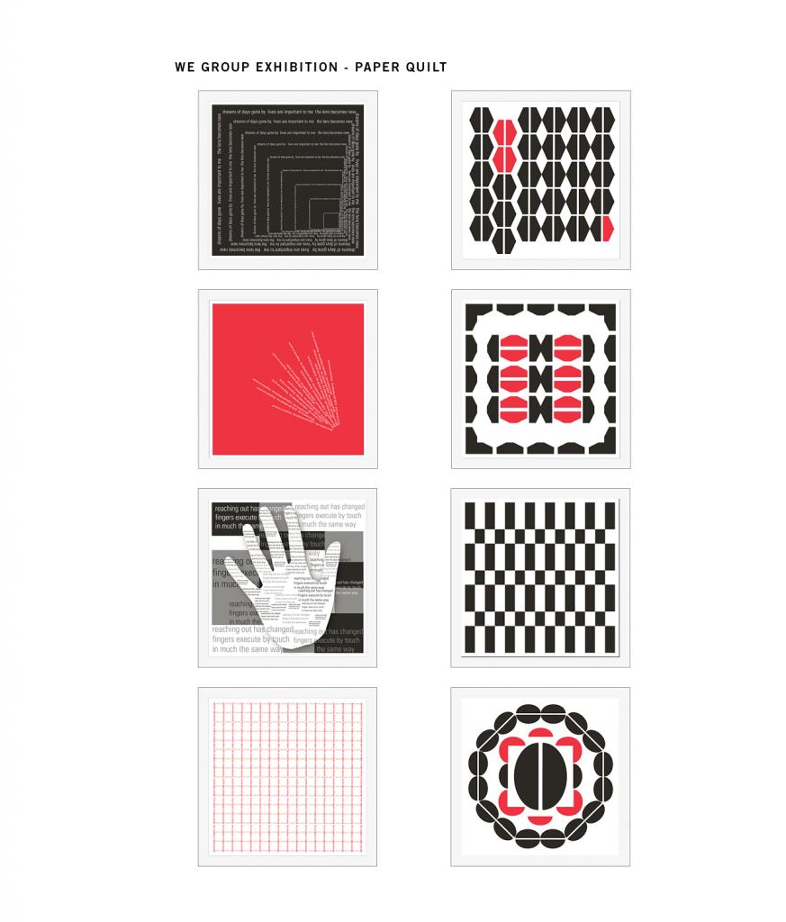 Paper Quilt Panels